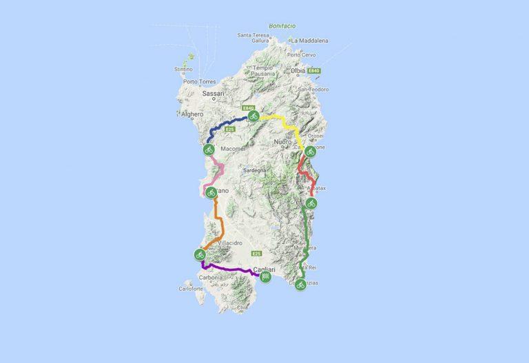 Sardinia Bike Green Medio Tour